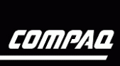 H-P spinoff compaq logo