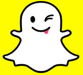 Snap Chat's tarnished logo and brand