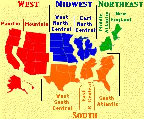 CensusRegions