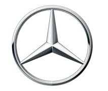The iconic Mercedes logo - a propeller in a circle - in case they ever make planes!